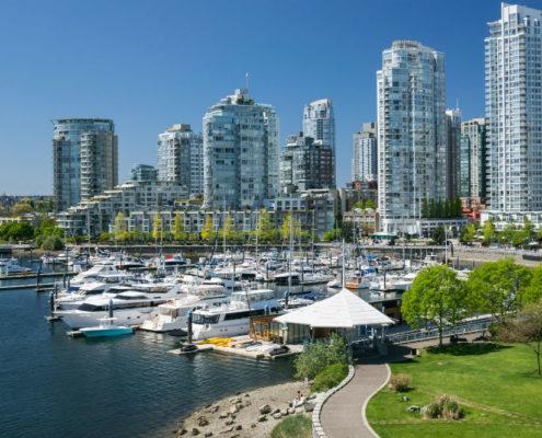 Vancouver, vue sur Yaletown