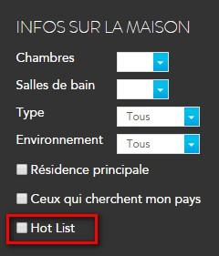 hot list button