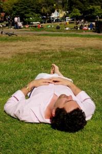nap in park