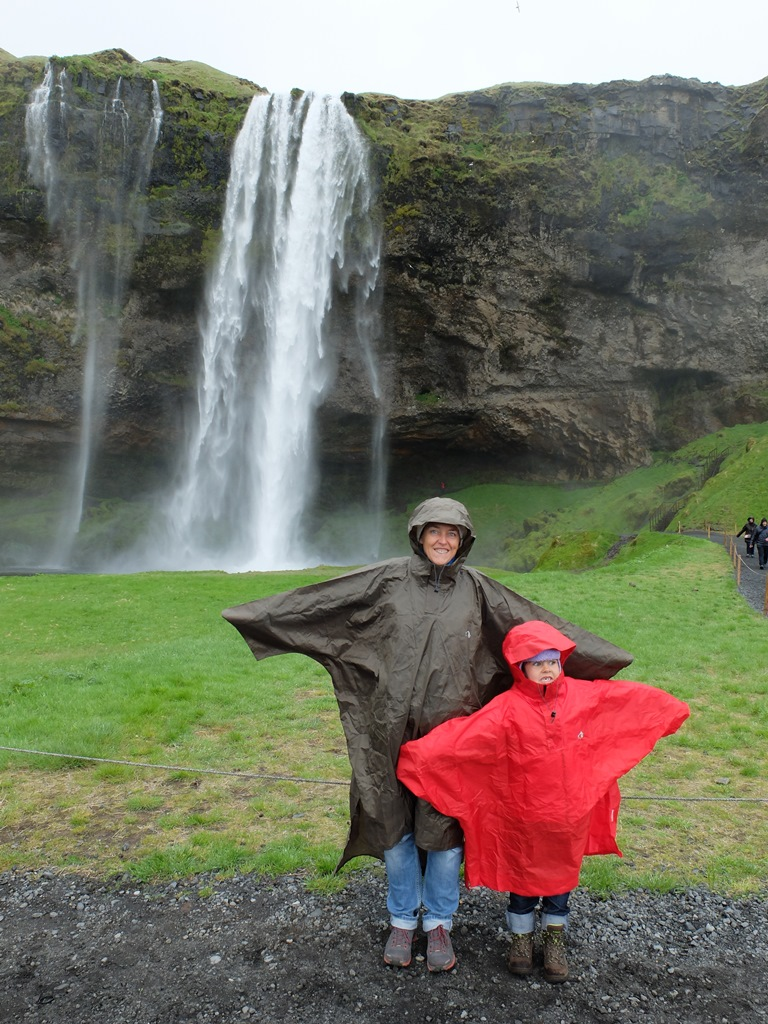 waterfall with myriam and alix