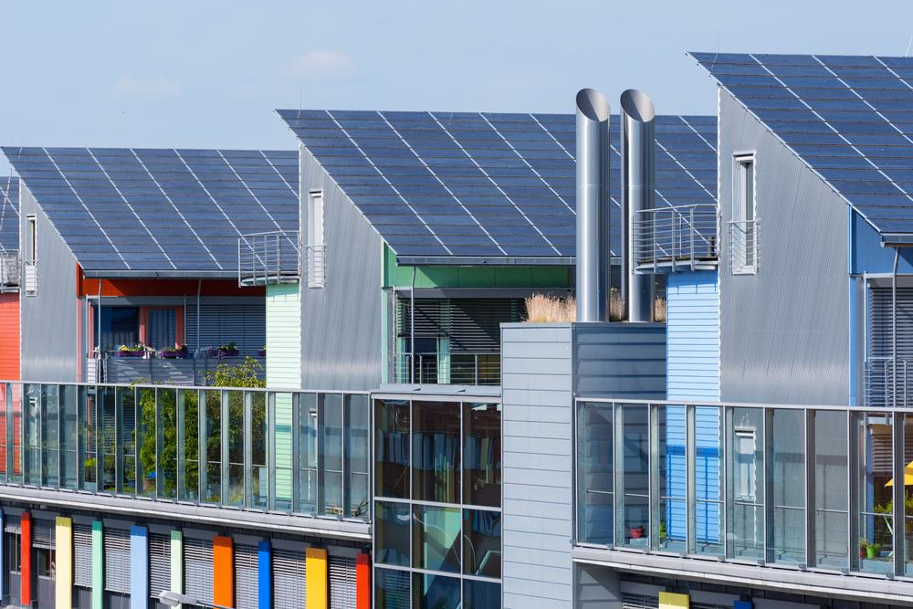 Freiburg solar houses