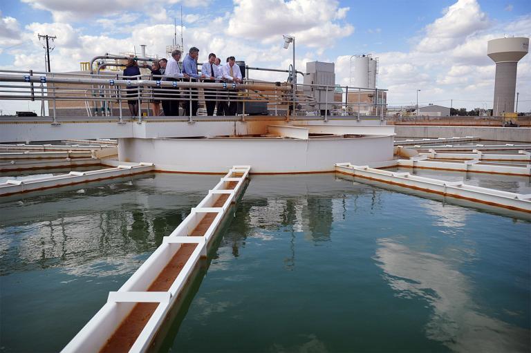 Water treatment plant Texas