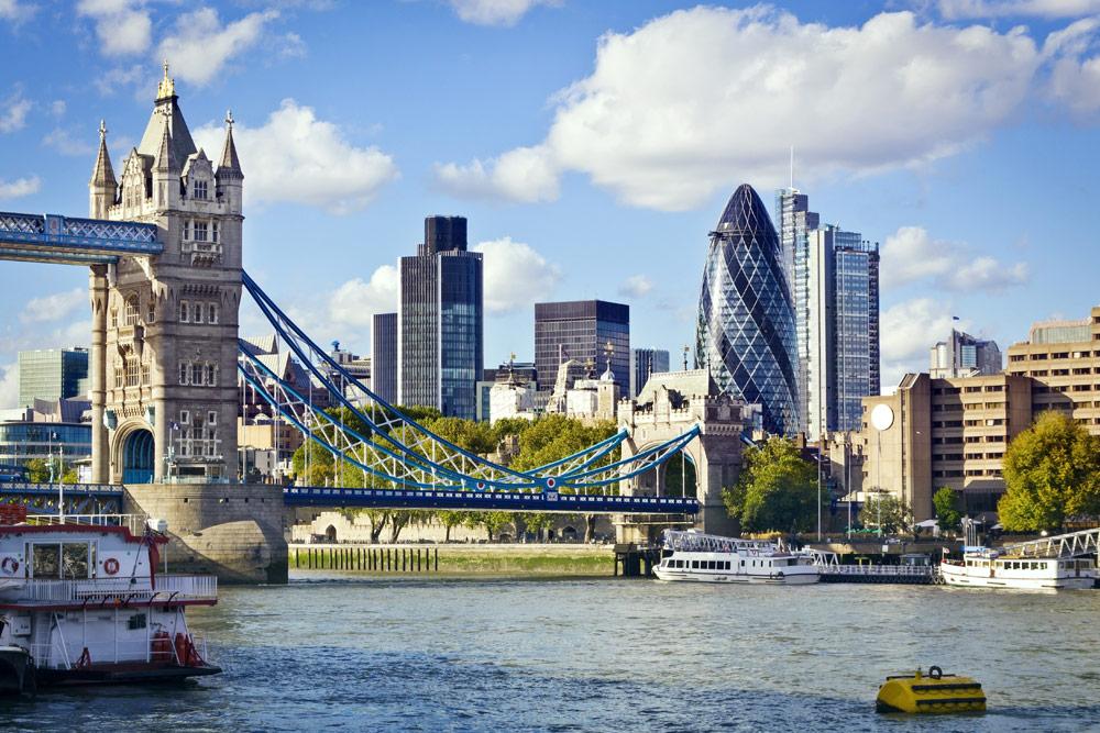 Londres, architecture ancienne et moderne