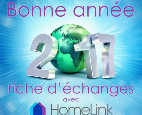 Bonne année 2017 avec HomeLink